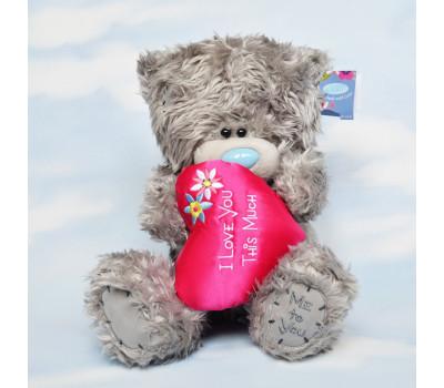 Мишка Тедди Me to You с розовым сердцем