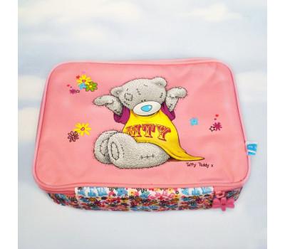 Ярко-розовая термосумка с мишкой Тедди