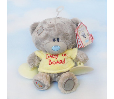 Мишка Тедди на присосках Baby On The Board