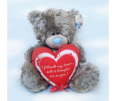 Мишка Тедди с романтическим стихом