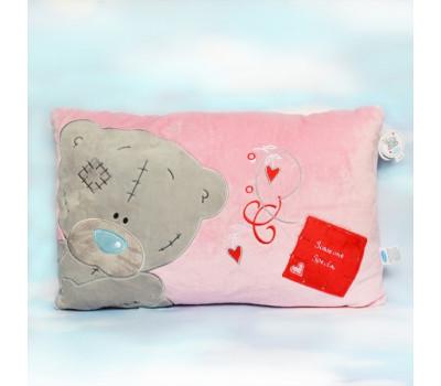 Розовая прямоугольная подушка MeToYou