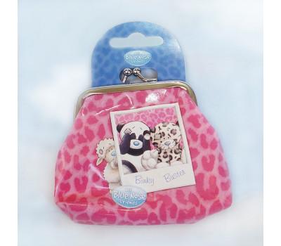 Розовый кошелек Blue Nose Friends