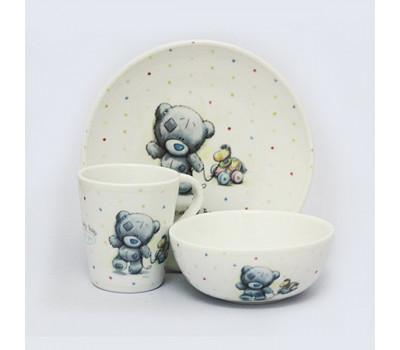 Набор: посуда MeToYou - миска, тарелка, чашка