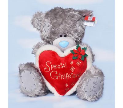 Ведмежа Тедді з серцем Special Girlfriend