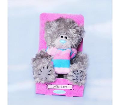 Teddy MeToYou в розово-голубом шарфике