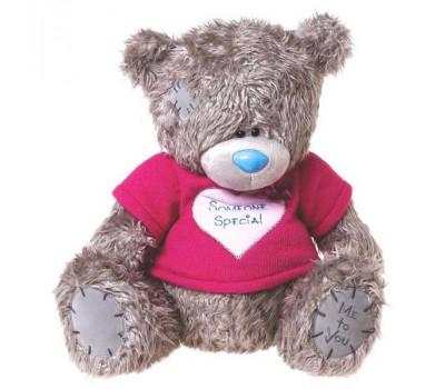Мишка MeToYou в футболке с сердцем Someone special