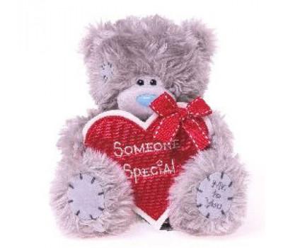Мишка Тедди с красным сердцем Someone Special