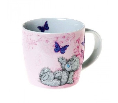 Нежно-розовая чашка