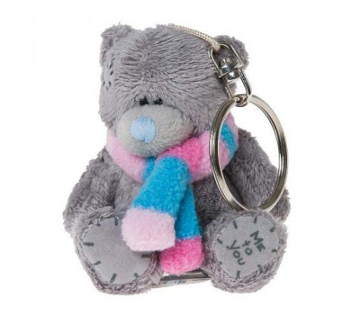 Медвежонок Тедди-брелок в шарфике