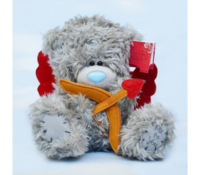 Мишка Тедди - Купидон с луком и стрелой