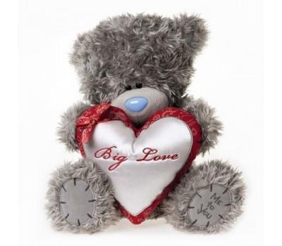 Мишка  Тедди держит сердце Big Love