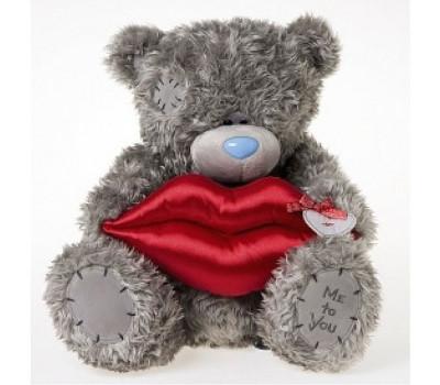 Мишка Tедди c поцелуем