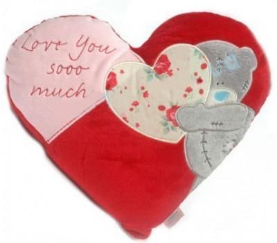 Подушка MTY в форме сердца Love you soo much