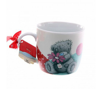 Чашка MeToYou - мишка с ромашкой