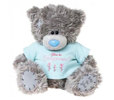 Мишка Тедди в футболке YOURE GORGEOUS
