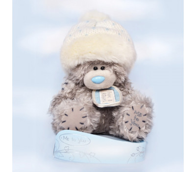 Мишка Тедди с ярлычком