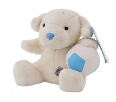 Лабрадор с мячом Бегунок