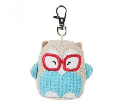 Брелок OWL на сумку - Совенок в очках