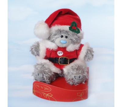 Тедди в костюме Санта Клауса