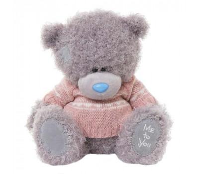 Мишка Тедди MTY  в розовом джемпере