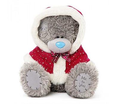 Ведмедик Тедді від компанії MTY  в червоній накидці