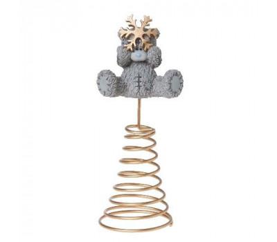 Елочное украшение Me To You на верхушку елки - Мишка Тедди со звездой