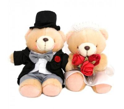 Два мишка Forever Friends - Жених и Невеста