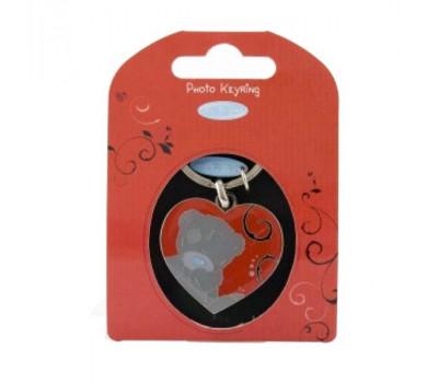 Брелок MTY для ключей для фото - в форме сердца