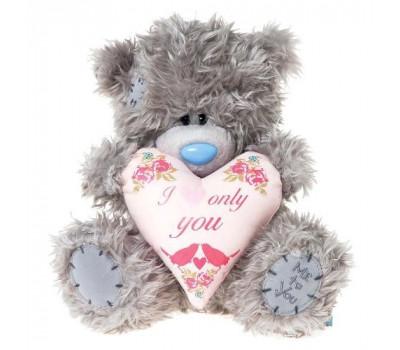Мишка Тедди MTY  держит сердце I HEART ONLY YOU