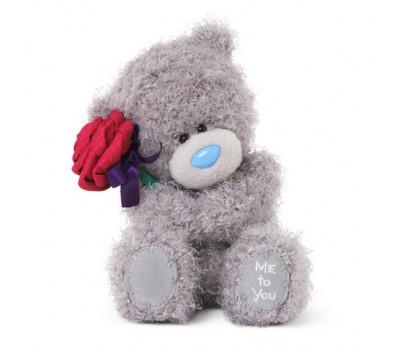 Мишка Тедди  MTY  с красной розой