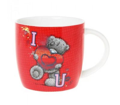 Чашка от компании MTY  с буквами I LOVE YOU