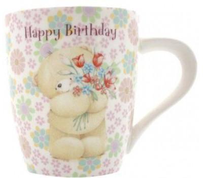 Чашка от компании FF - с мишкой Холмарк