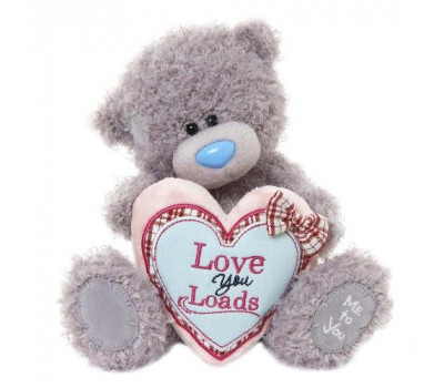 Мишка Тедди MTY  держит сердце в лапках