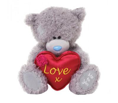 Мишка Тедди MeToYou держит сердце LOVE