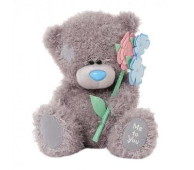 Мишка Тедди от компании MTY с цветами