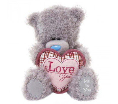 Медвежонок Тедди MTY держит сердце Love You