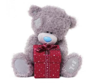 Мишка Тедди MTY  с коробкой подарков