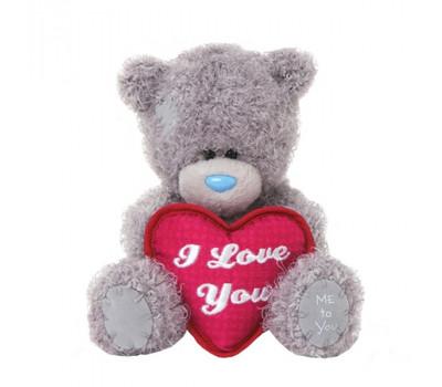 Медвежонок Тедди с сердцем I LOVE YOU
