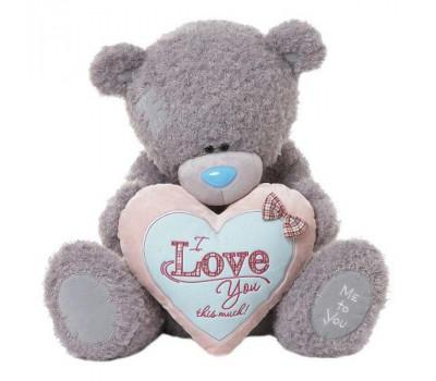 Мишка Тедди MTY  держит плюшевое сердце