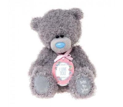Мишка Тедди MTY  с табличкой I LOVE YOU