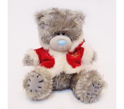 Мишка Тедди MTY в красной шубке