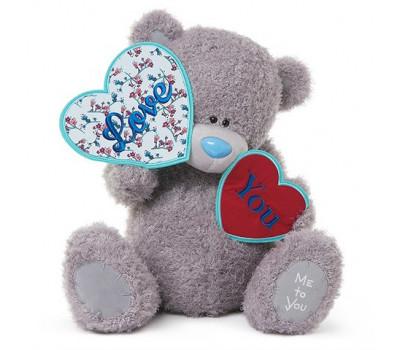 Медвежонок Тедди MTY держит сердечки