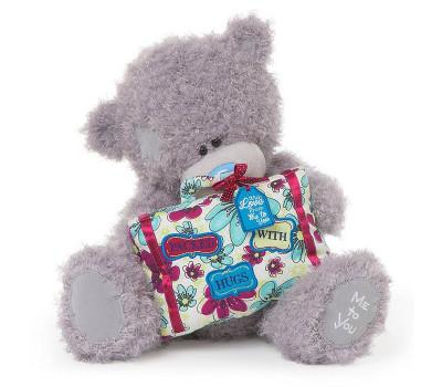 Мишка Тедди с подарком Packed with Hugs