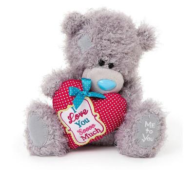 Мишка Тедди с сердечком Love You Sooo Much