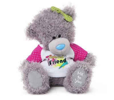 Медвежонок Тедди в майке Special Friend
