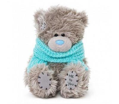 Мишка Тедди MTY  в голубом шарфике