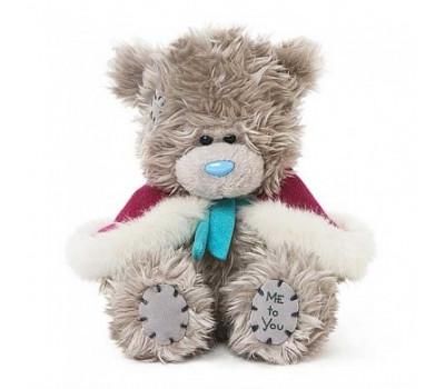 Мишка Тедди MTY  в малиновой пелеринке