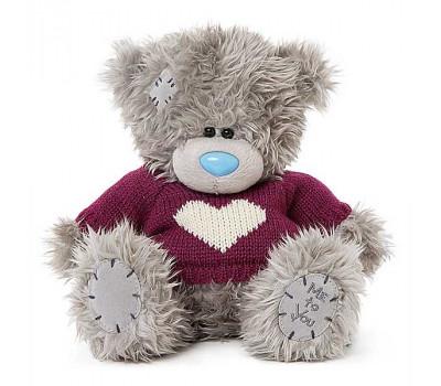 Мишка Тедди MTY  в красном свитере
