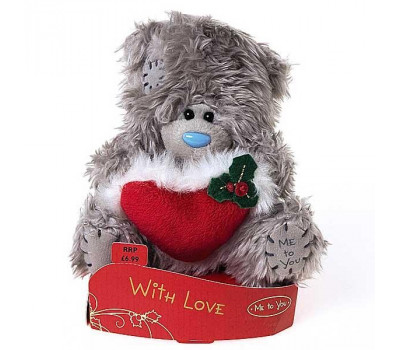 Ведмедик Тедді з сердечком With Love