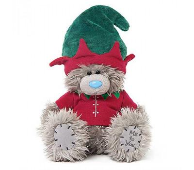 Мишка Тедди MeToYou в костюме эльфа